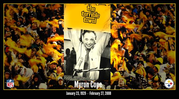 myron cope, steelers nation, WTAE, 1929-2008