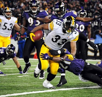 Issac Redman, Steelers vs Ravens