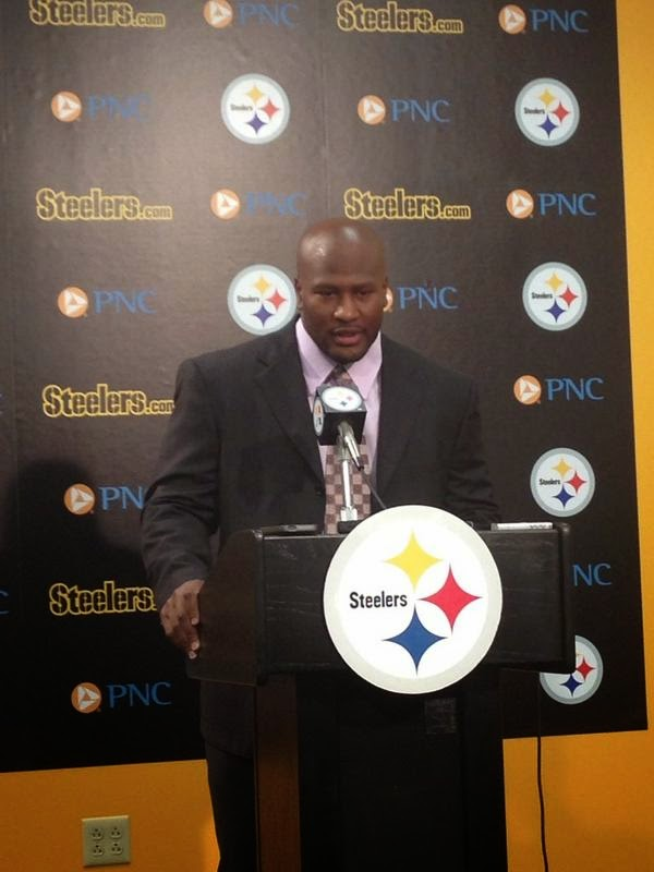 James Harrison Retire Return Steelers
