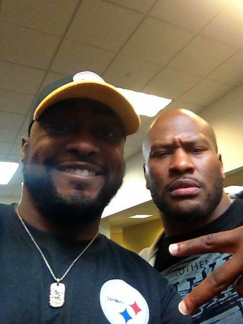 Mike Tomlin, James Harrison, Selfie, Debo, Silverback, return, retire
