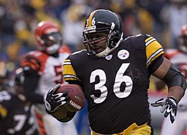 Jerome Bettis, Bengals, Heinz Field