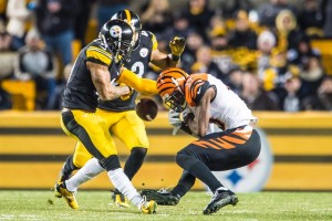 Antwon Blake, A.J. Greene, Steelers, Bengals