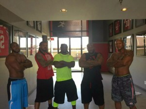 James Harrison, training, Jarvis Jones, Vince Williams, Sean Spence, Ryan Shazier