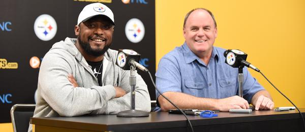 Kevin Colbert, Mike Tomlin, Steelers draft