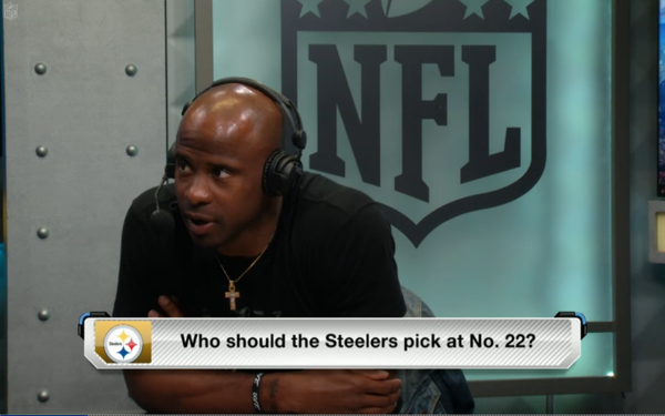 Ike Taylor, Steelers, draft, 2015 draft, 2003 draft