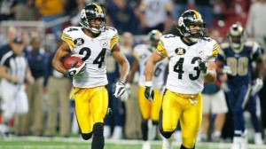 Ike Taylor, interception, Super Bowl XL