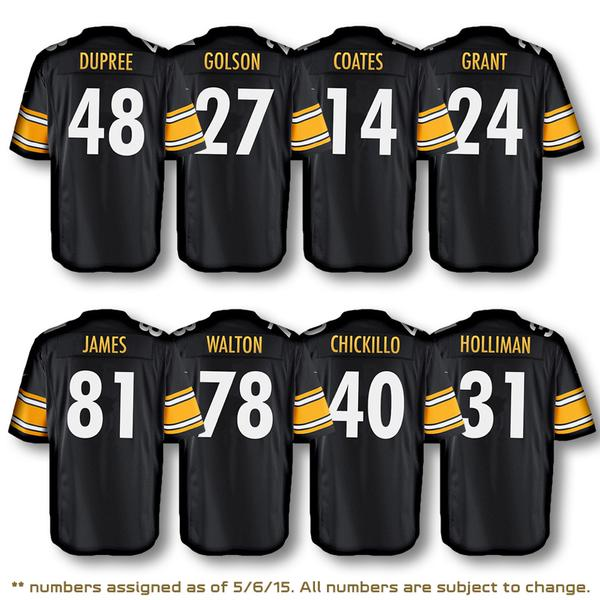 Nfl 81 Jesse James Pittsburgh Steelers Game Jerseys