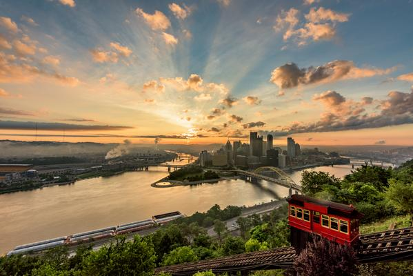 pittsburgh, sun rise, dave dicello, steeler nation