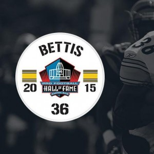 Jerome Bettis, Hall of Fame, Decal, Steelers, Hall of Fame Game