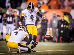 Chris Boswell, Steelers, Bengals, AFC Wild Card