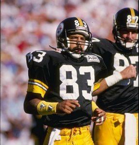 weegie thompson, louis lipps, steelers wide receivers 1980's, 1988 Steelers