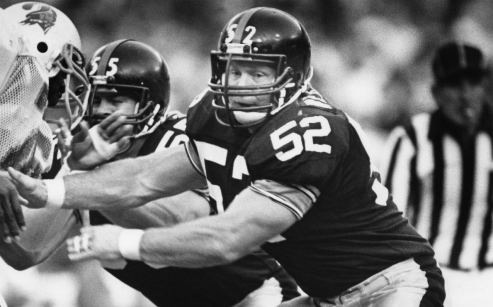 Mike Webster, Steelers vs Buccaneers, Concussion