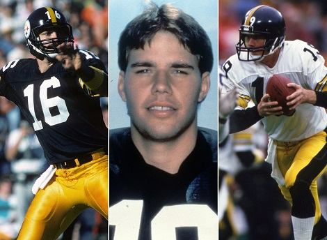 Mark Malone, David Woodley, Scott Campbell, 1985 Steelers quarterbacks