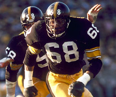 L.C. Greenwood, Jack Lambert, Super Bowl XIV