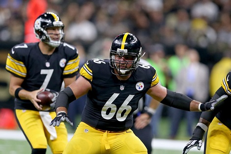 David DeCastro, Ben Roethlisberger, Steelers 2012 first round draft pick