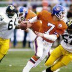 Mike Merriweather, Edmund Nelson, John Elway, Steelers vs Broncos 1984, Mike Merriweather Steelers career