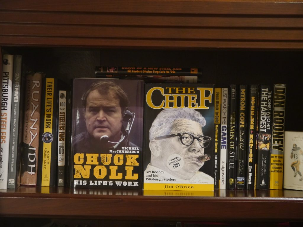 Chucky Noll biography, Art Rooney Sr. Biography, Steelers books, Steelers summer reading