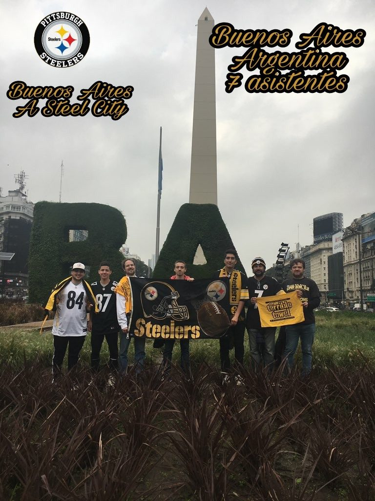 Steelers Fans Buenos Aires, #SteelersWorldWide, Steelers Nation Argentina, Steelers Argentina