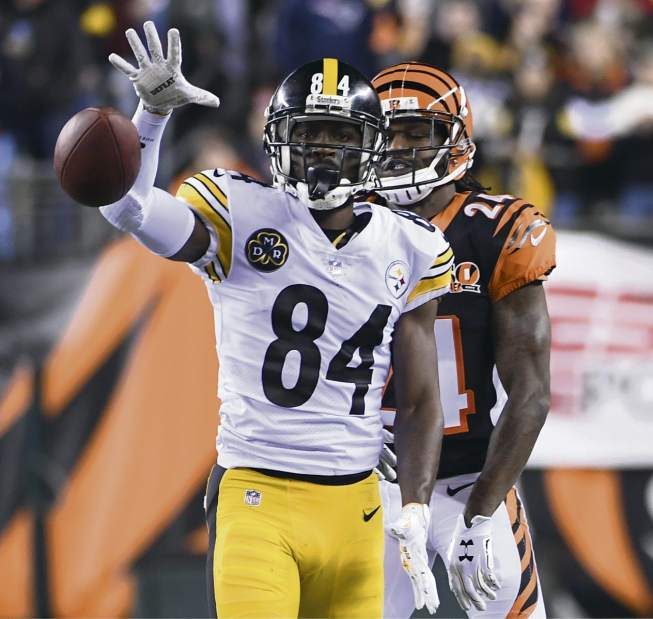 "Antonio Brown, Adam Jones, Adam ""Pacman Jones"", Steelers vs Bengals"