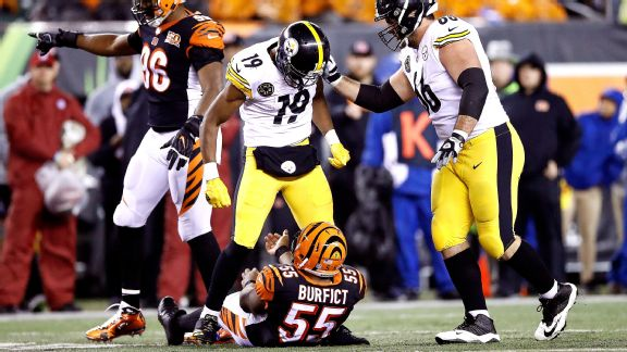 JuJu Smith-Schuster, Vontaze Burfict, Steelers vs Bengals, JuJu Smith-Schuster suspension, David DeCastro