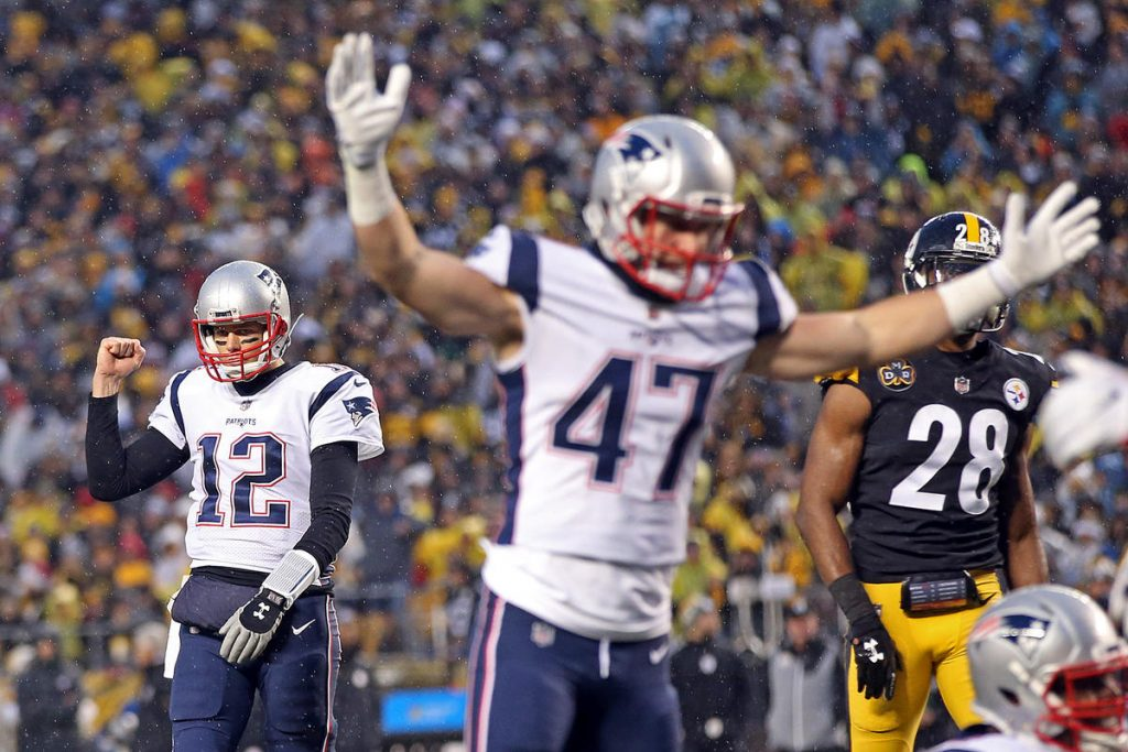 Steelers vs Patriots, Tom Brady, Jacob Hollister, Sean Davis