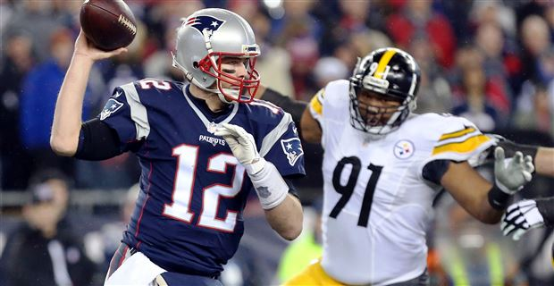 Stephon Tuitt, Tom Brady, Steelers vs Patriots