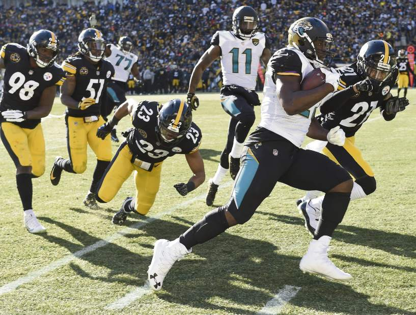 Leonard Fournette, Steelers vs Jaguars, Steelers Jaguars playoffs, Joe Haden, Mike Mitchell, Sean Spence, Vince Williams