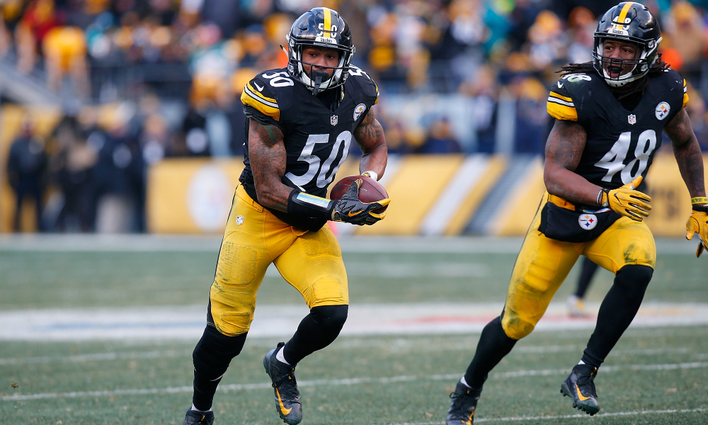 Ryan Shazier, Bud Dupree, Steelers vs Dolphins playoffs