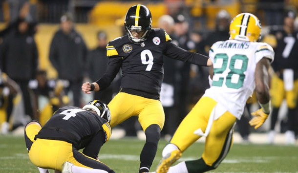 Chris Boswell, Chris Boswell steelers restricted free agent, Steelers vs Packers