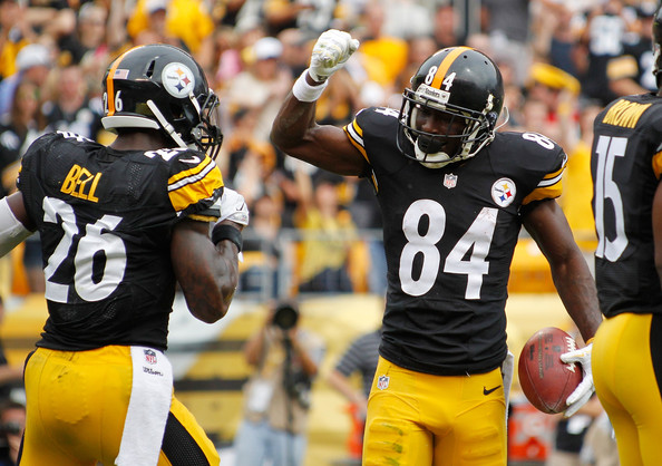 Le'Veon Bell, Antonio Brown, Steelers vs Buccaneers