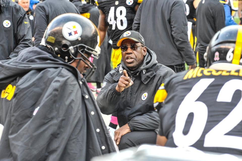 John Mitchell, Steelers defensive line coach John Mitchell, John Mitchell's Steelers coaching career