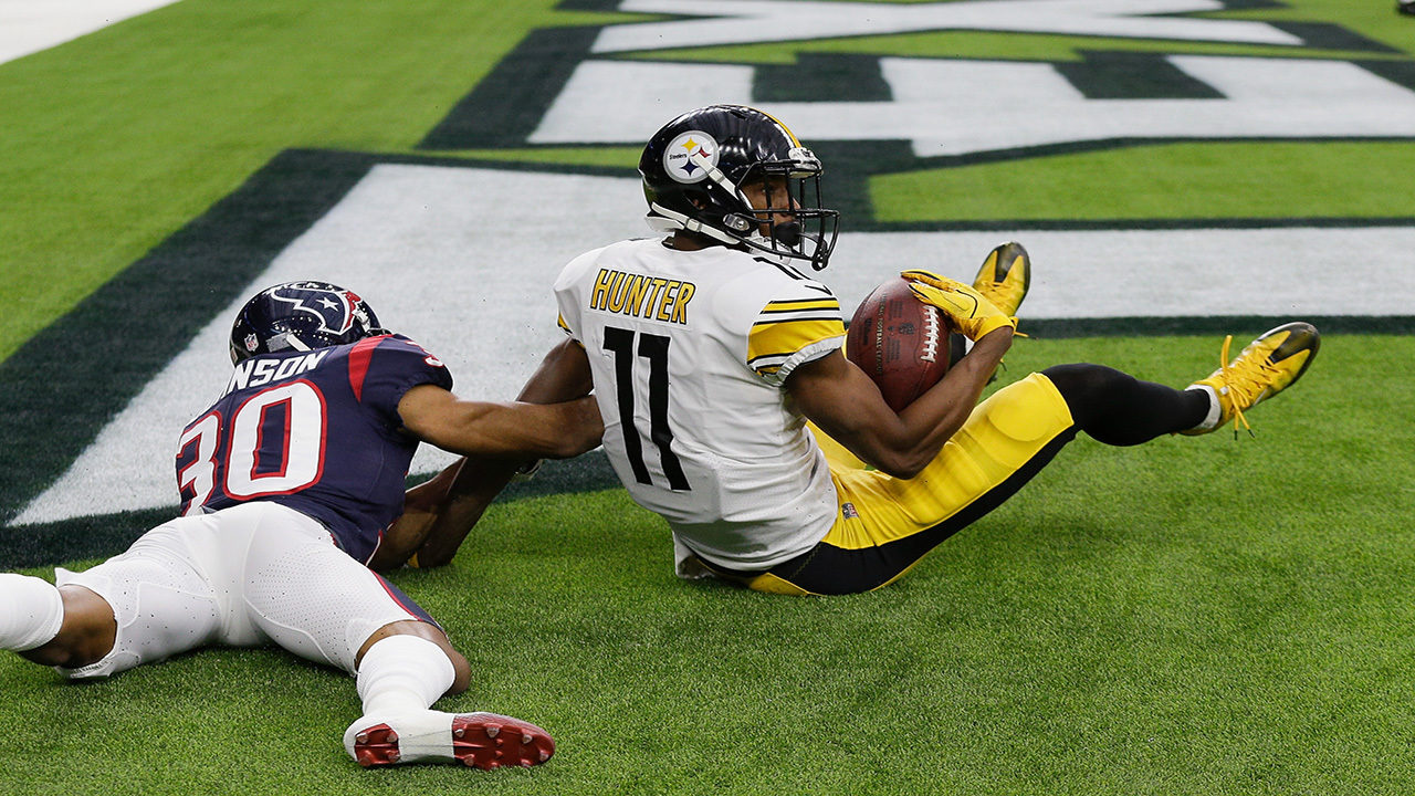 Justin Hunter, Justin Hunter touchdown, kevin Johnson, Steelers vs Texans