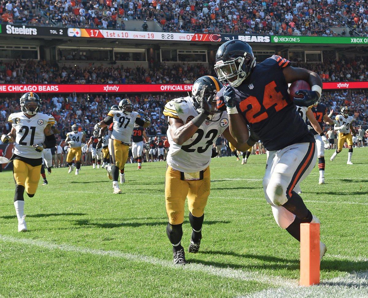 Mike Mitchell, Jordan Howard, Steelers vs Bears