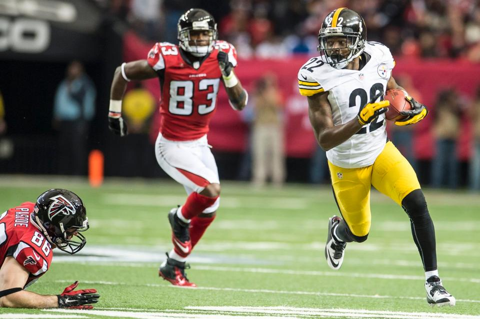 William Gay, William Gay Pick Six, William Gay interception, Big play Willie Gay, Steelers vs Falcons
