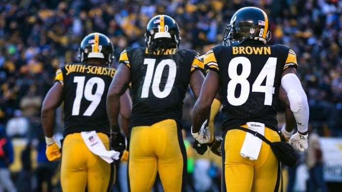 JuJu Smith-Schuster, Martavis Bryant, Antonio Brown, Steelers 2018 wide receiver draft needs