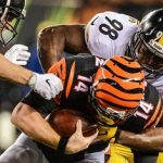 Vince Williams, Andy Dalton, Steelers vs Bengals
