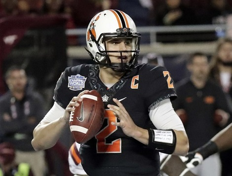 Mason Rudolph, Steelers 2018 3rrd round pick, Steelers third string quarterbacks