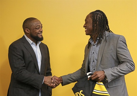 Mike Tomlin, Terrelle Edmunds, Steelers 2018 1st round draft choice