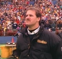 Bill Cowher, Three Rivers Stadium