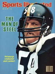 Jack Lambert, Jack Lambert Sports Illustrated Cover