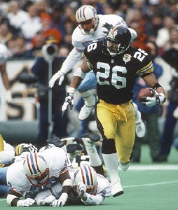 Rod Woodson, Steelers vs Oilers, Three Rivers Stadium, 1992 Steelers