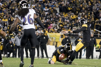 Chris Boswell, Steelers vs Ravens, Chris Boswell contract