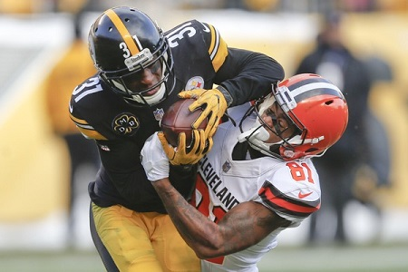 Mike Hilton, Rashard Higgins, Steelers vs Browns, Steelers prseason