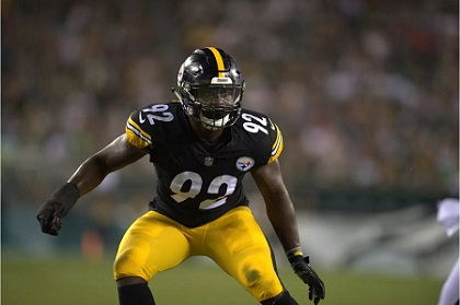 Ola Adeniyi, Olasunkanmi, Adeniyi, Steelers vs Eagles preseason