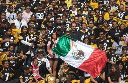 Steelers Fans Mexico