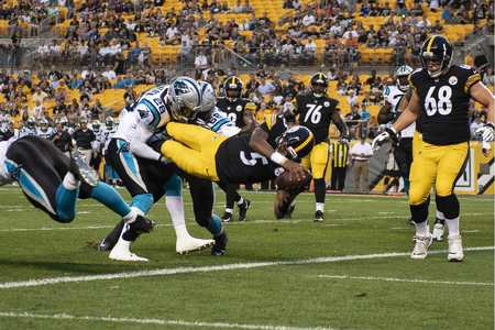 Joshua Dobbs, Steelers vs Panthers preseason
