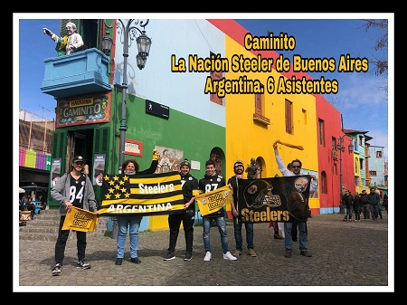 #SteelersWorldWide, #SteelersWorldWide 2018, Pittsburgh Steelers Fan Club of Buenos Aires