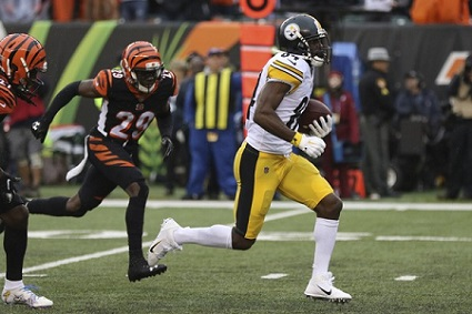 Antonio Brown, William Jackson, Steelers vs Bengals