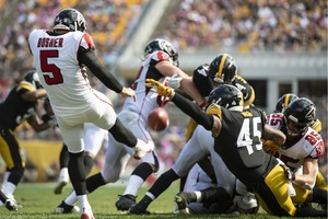 Roosevelt Nix, Roosevelt Nix blocked punt, Steelers vs Falcons