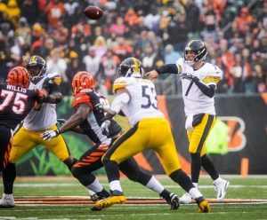 Steelers 2018 Offensive line, Ben Roethlisberger, Maurkice Pouency